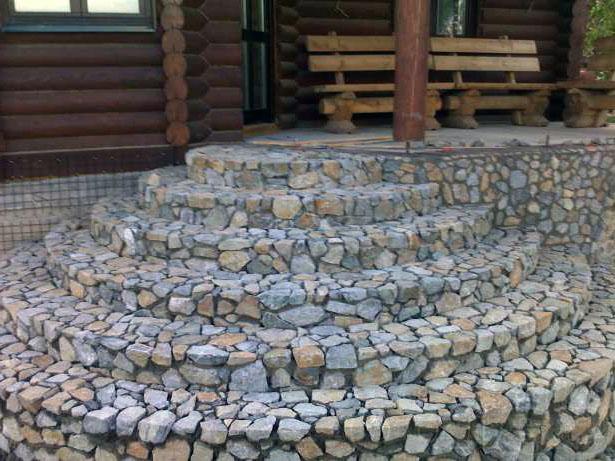 Расценка на укладку натурального камня
