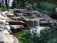 Пруды, водопады, ручьи