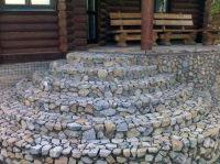 Укладка природного камня